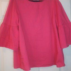 Plus sized - 18 Salmon color blouse